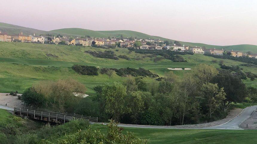 Bridges Golf Course and homes, San Ramon, CA